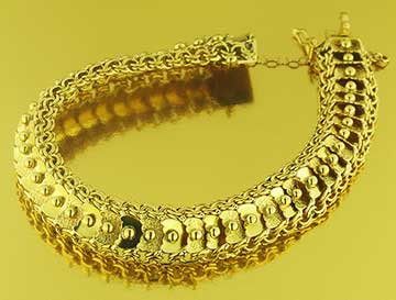 pulsera oro Compro Oro Santander